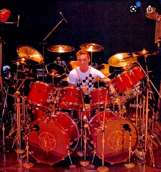 Neil Peart 1982 Signals Tour