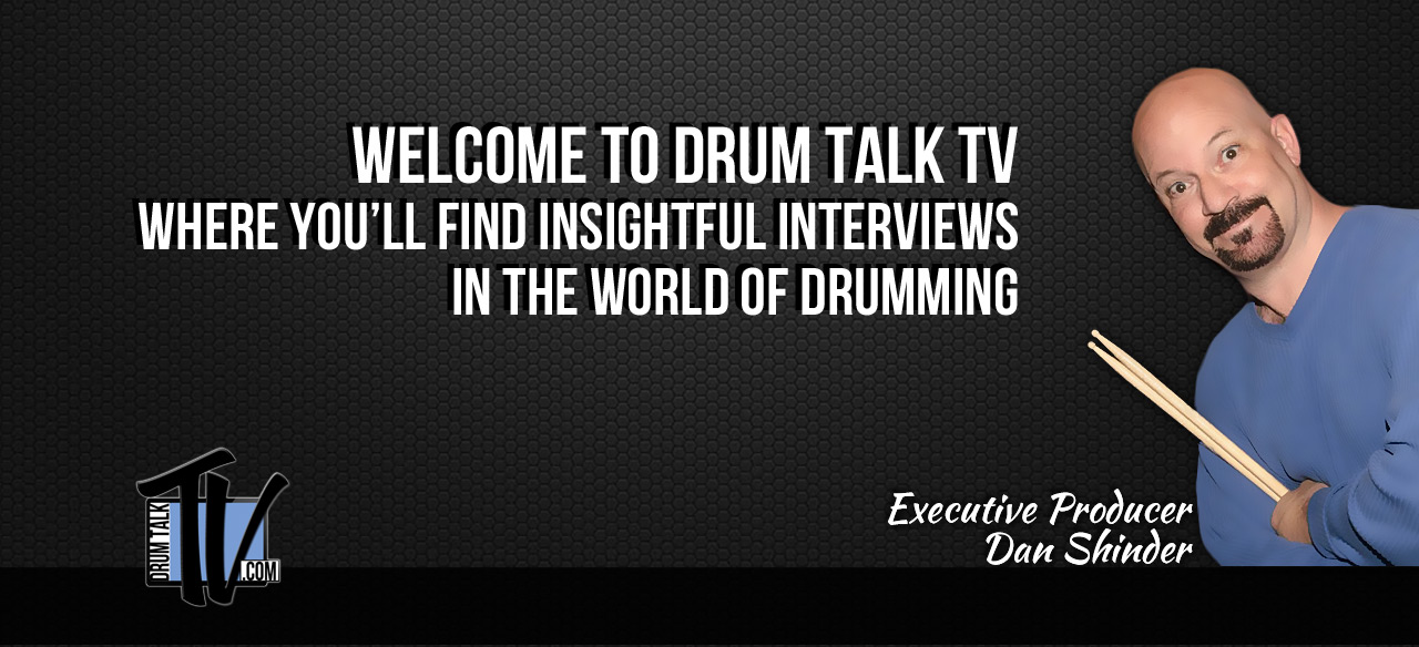 Drum Talk TV Home