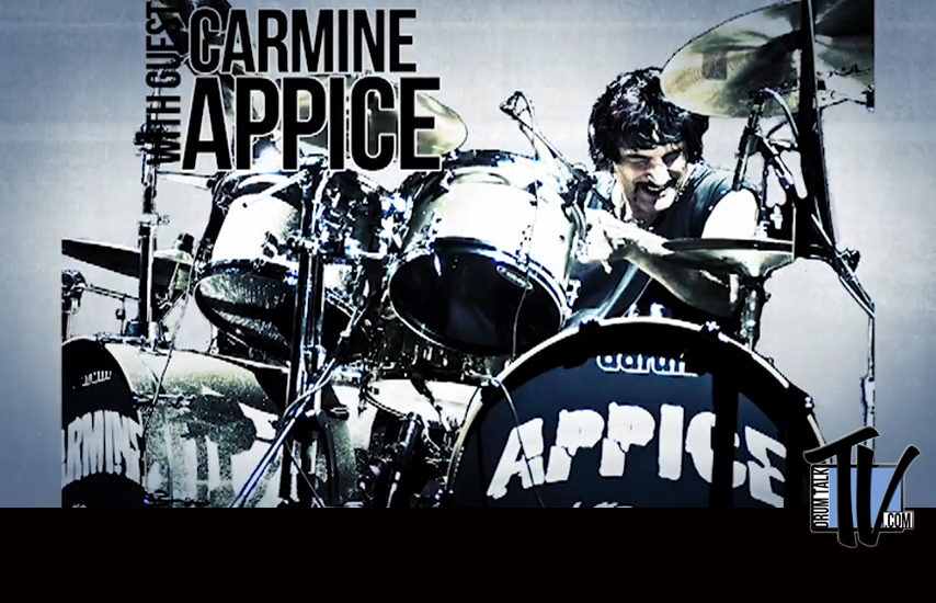 Carmine Appice on Drum Talk TV