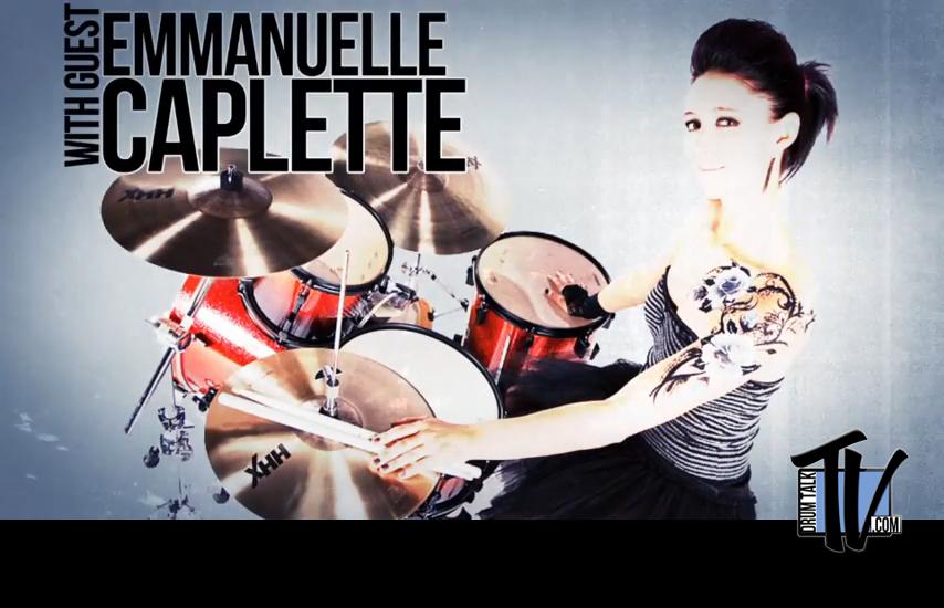 Emmanuelle Caplette on Drum Talk TV