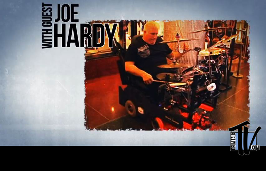 Joe Hardy on Drum Talk TV