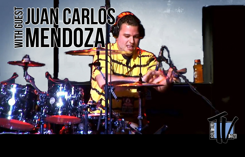 Juan Carlos Mendoza on Drum Talk TV