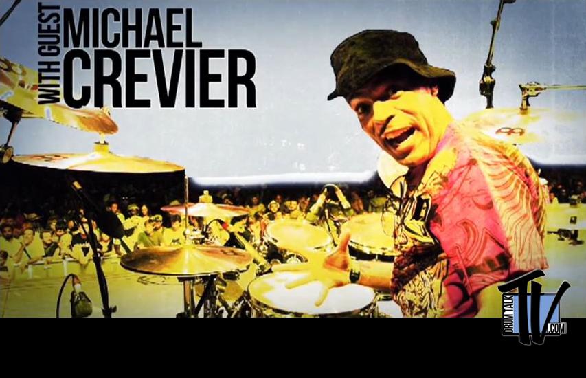 Michael Crevier of Burning Spear on Drum Talk TV