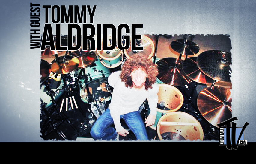 Tommy Aldridge on Drum Talk TV