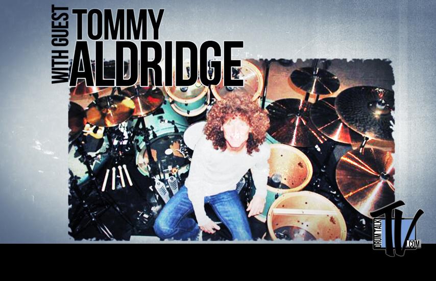 Tommy Aldridge on Drum Talk TV