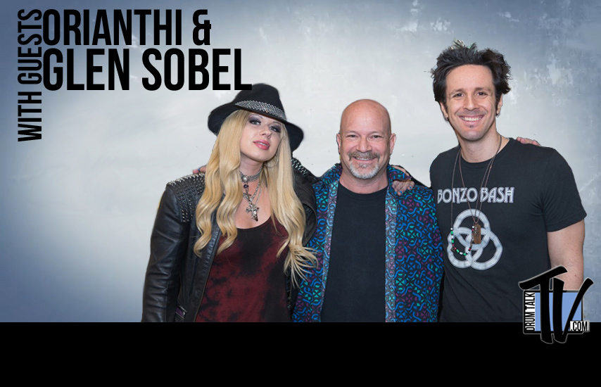 orianthi and Glen Sobel on Drum Talk TV