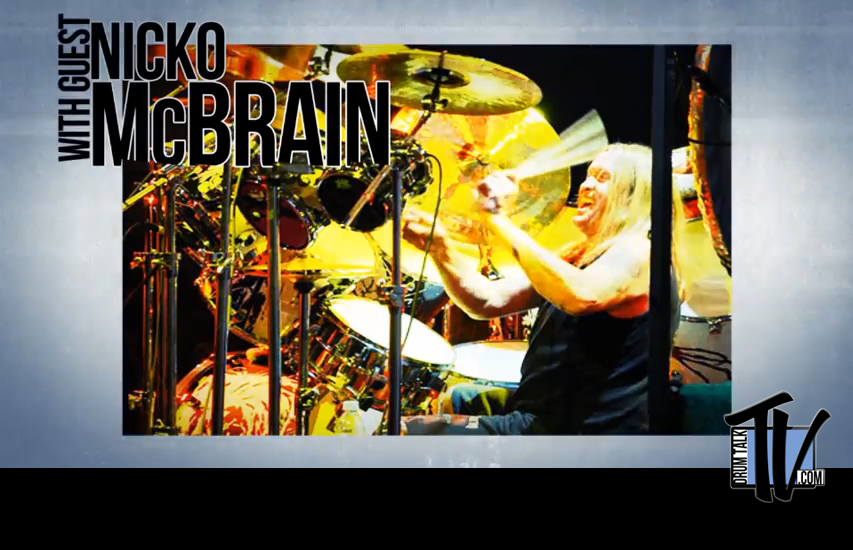 Nicko McBrain on Drum Talk TV
