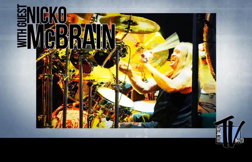 Nicko McBrain on Drum Talk TV