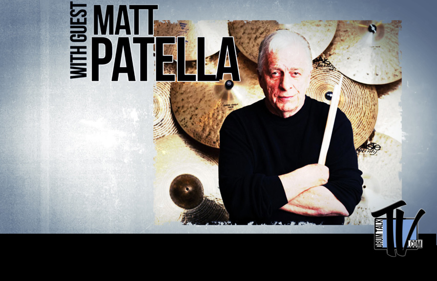 Matt Patella Drum Talk TV Interview