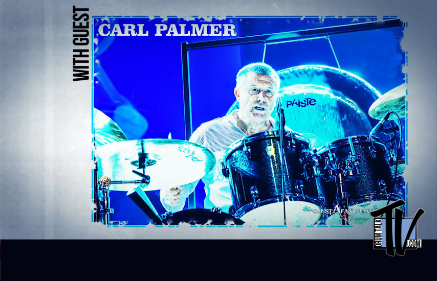 Drum Talk TV Interview with Carl Palmer - Twist of the Wrist
