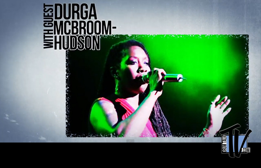 Drum Talk TV Interviews Durga McBroom-Hudson, Pink Floyd vocals,