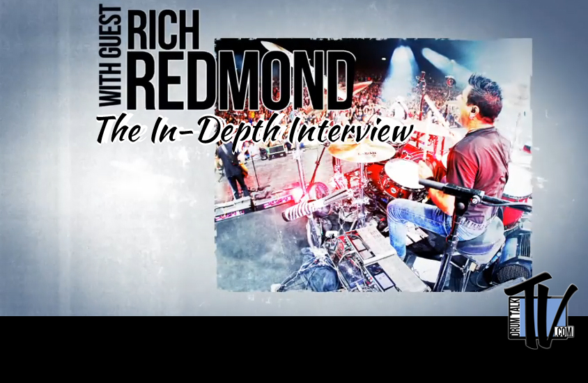 Rich Redmond Interview by Drum Talk TV