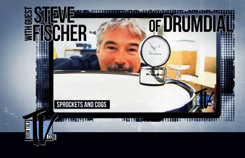 DrumDial inventor Steve Fischer on Drum Talk TV!