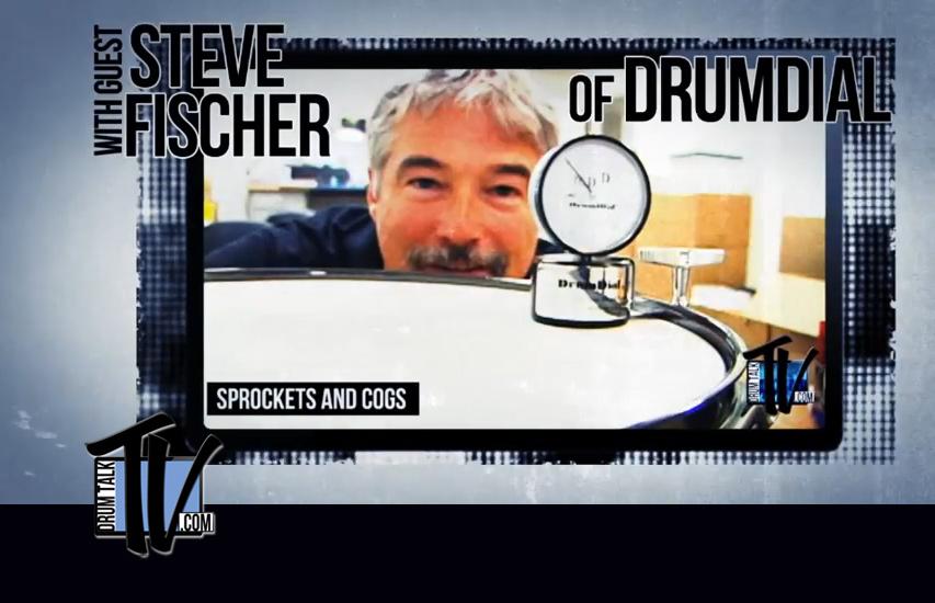 DrumDial inventor Steve Fischer on Drum Talk TV!