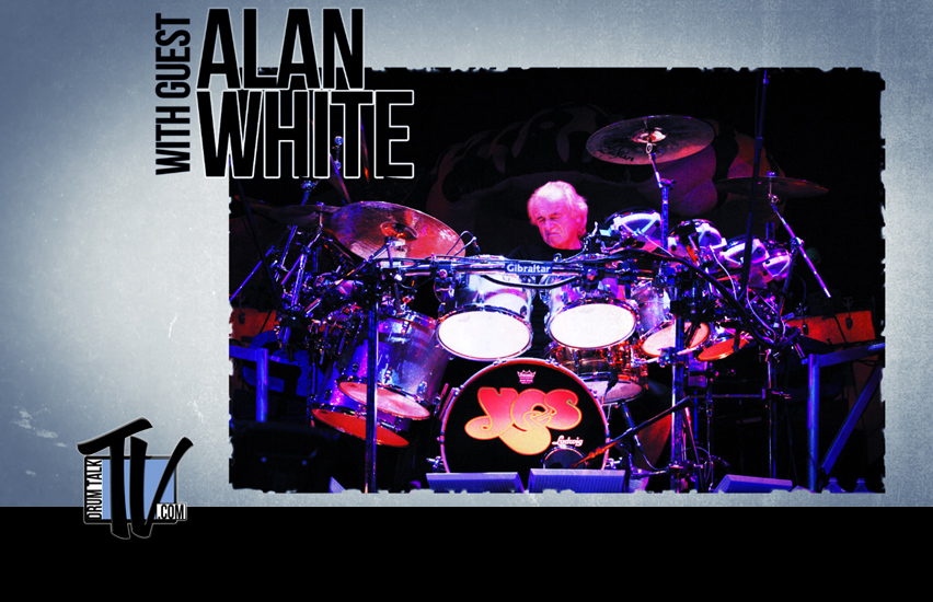 Alan White on Drum Talk TV