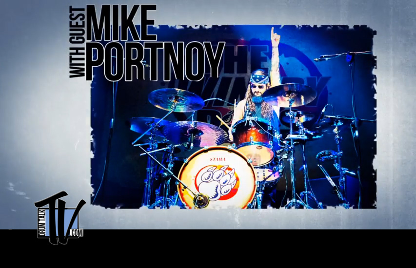 Mike Portnoy on Drum Talk TV
