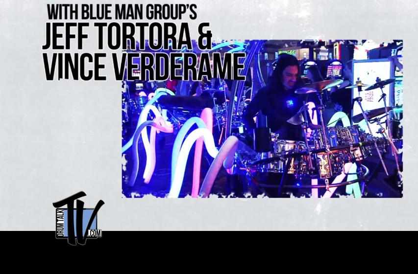 Blue Man Group on Drum Talk TV
