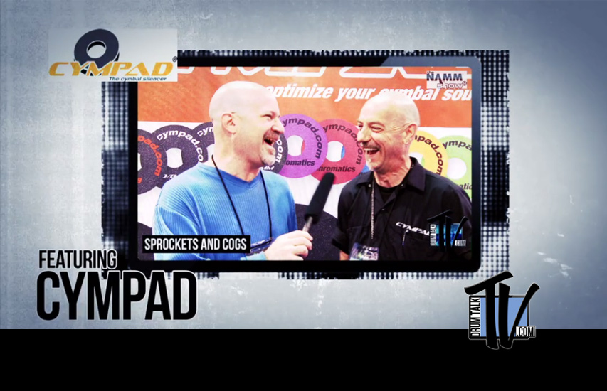 Cympad with Ingo Marte at NAMM 2014 on Drum Talk TV