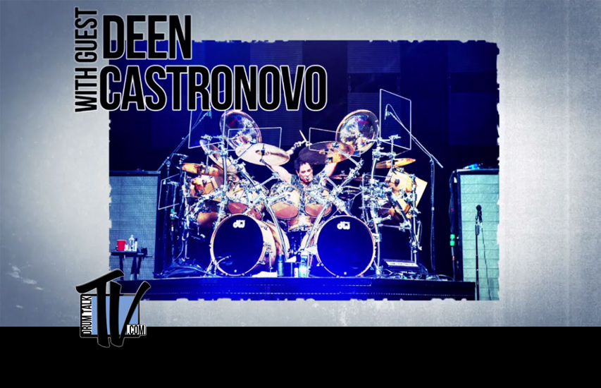 Deen Castronovo on Drum Talk TV