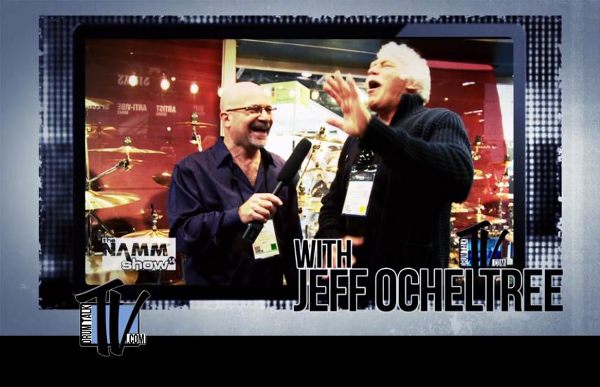 Jeff Ocheltree (Drum Tech to John Bonham, Billy Cobham) on Drum Talk TV