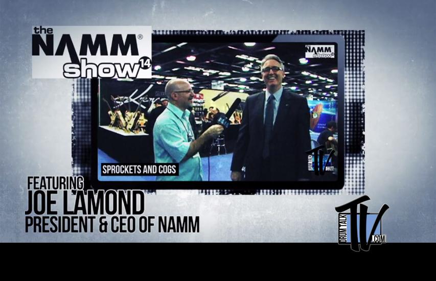 Joe Lamond CEO of NAMM, on Drum Talk TV
