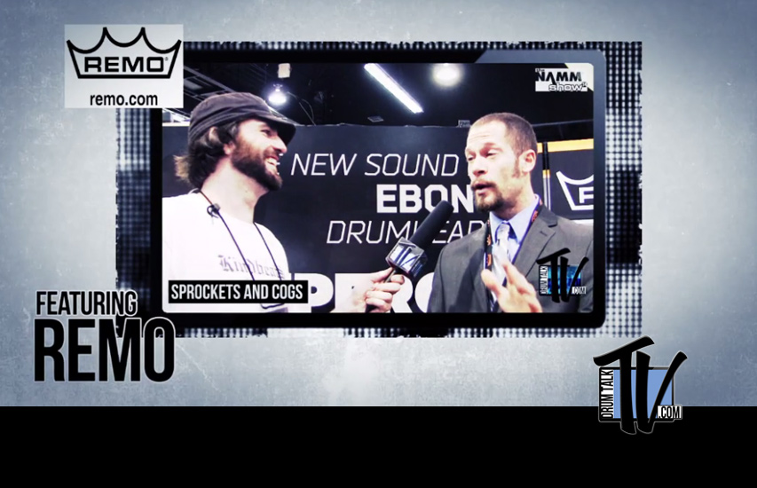 Remo Heads NAMM 2014 New Products on Drum Talk TV