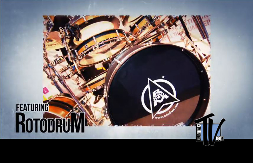 Italy's RotodruM on Drum Talk TV!