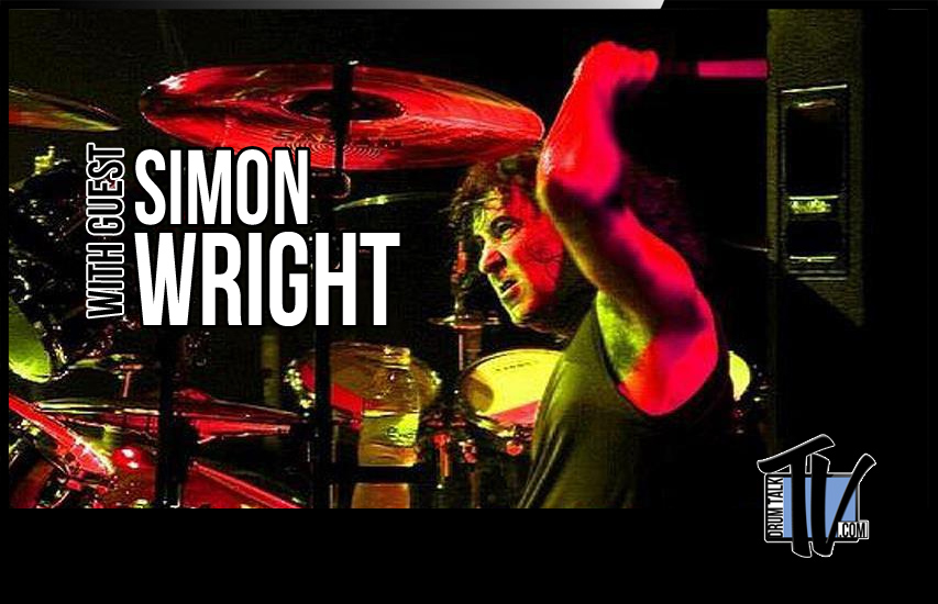 Simon Wright on Drum Talk TV - the Full Interview