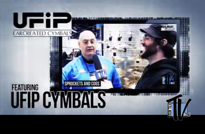 UFIP Cymbals on Drum Talk TV