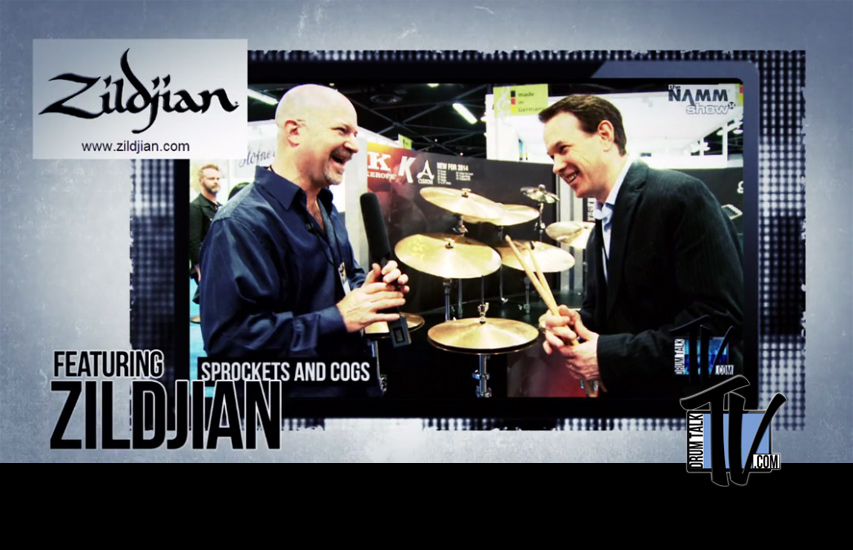 Interview wZildjian NAMM 2014 on Drum Talk TVith Paul Francis of