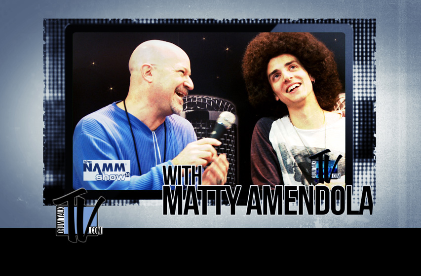 Matty-Amendola on Drum Talk TV