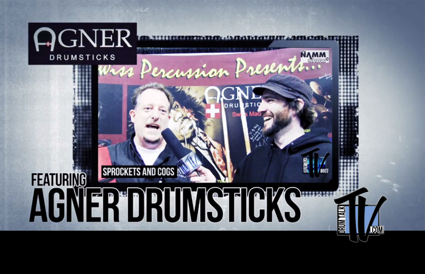 Agner Drumsticks on Drum Talk TV