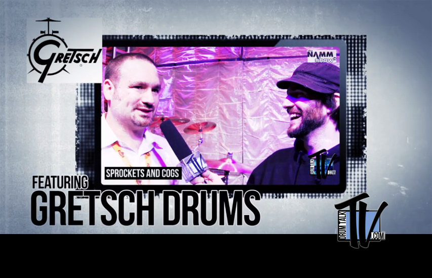 Gretsch Drums on Drum Talk TV