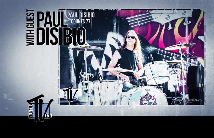 Paul Disibio of Counts 77 and John Zito Band,on Drum Talk TV