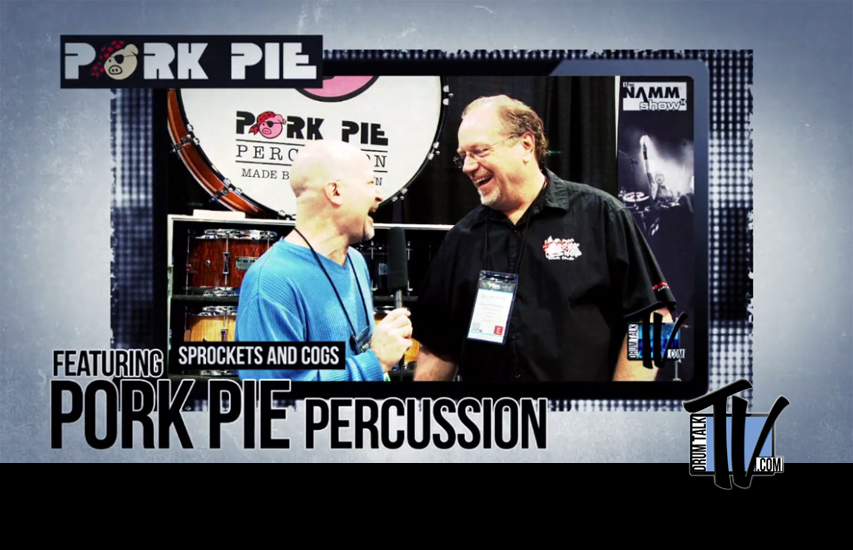 Pork Pie Percussion on Drum Talk TV