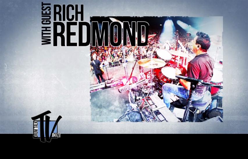 Rich Redmond on Drum Talk TV