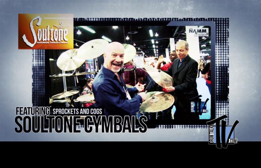 Soultone Cymbals on Drum Talk TV