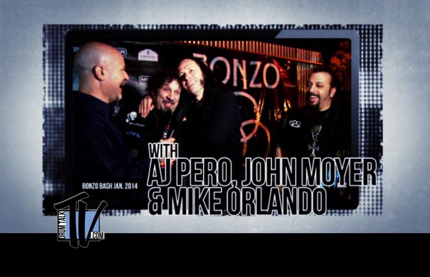 AJ Pero, John Moyer, Mike Orlando on Drum Talk TV