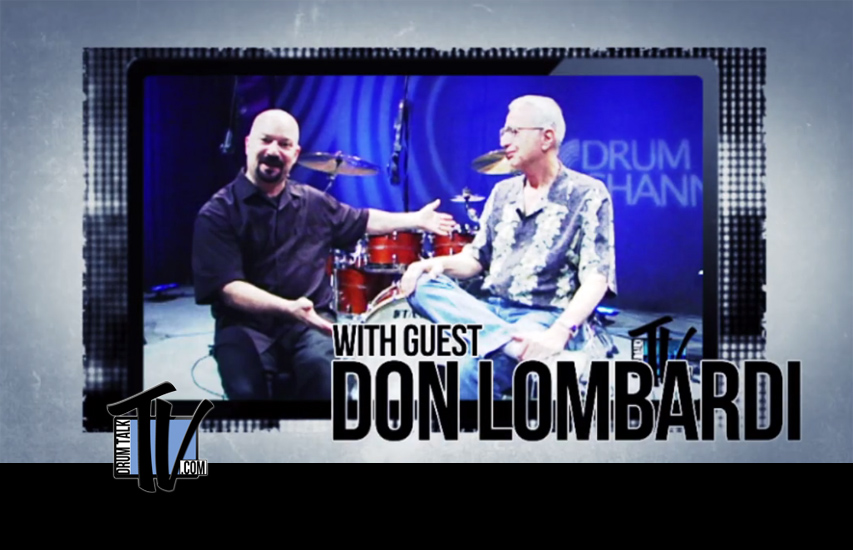 Don Lombardi of Drum Channel on Drum Talk TV