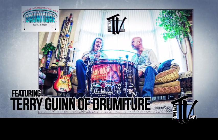 Drumiture Drum Furniture on Drum Talk TV
