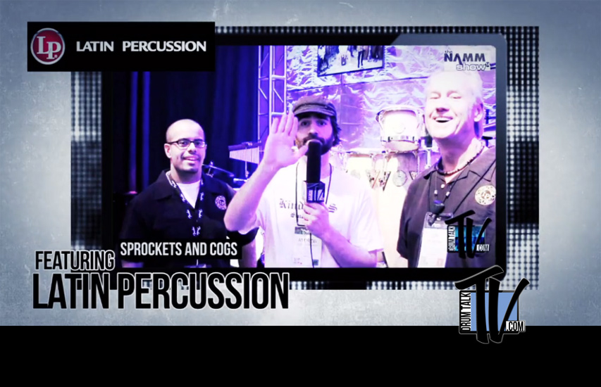 Latin Percussion on Drum Talk TV
