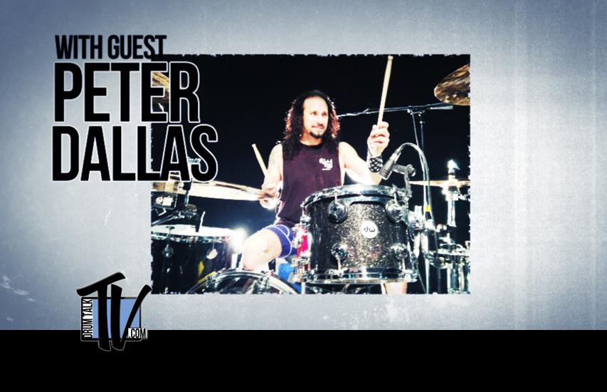 Peter Dallas on Drum Talk TV