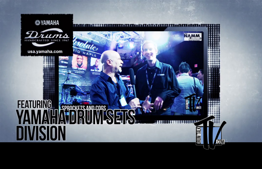 Yamaha Drum Sets NAMM 2014 on Drum Talk TV