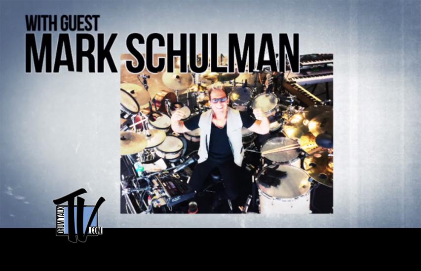Mark Schulman on Drum Talk TV