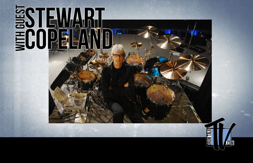 Stewart Copeland on Drum Talk TV