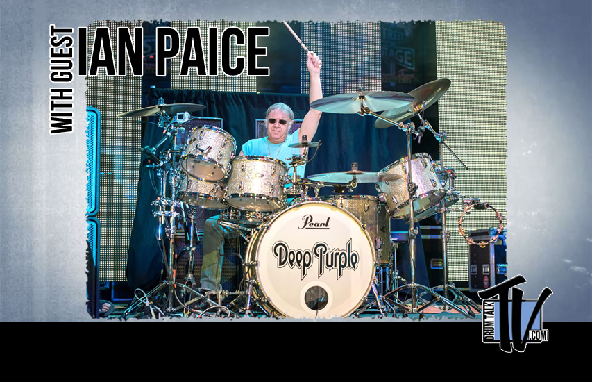 Ian Paice of Deep Purple on Drum Talk TV