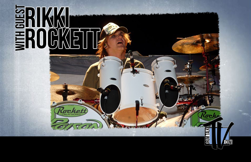 Rikki Rockett on Drum Talk TV