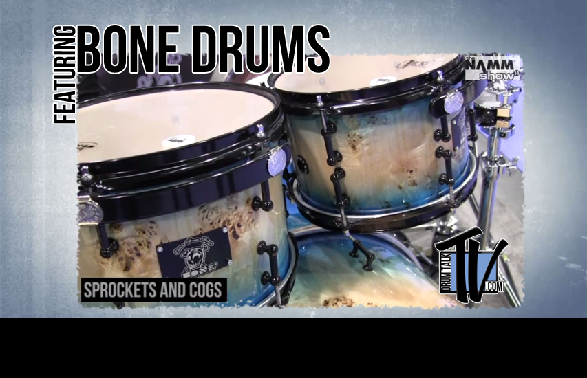 Bone Drums on Drum Talk TV