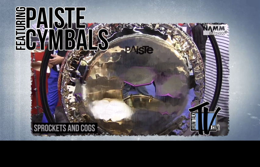 Paiste Cymbals NAMM 2014 on Drum Talk TV