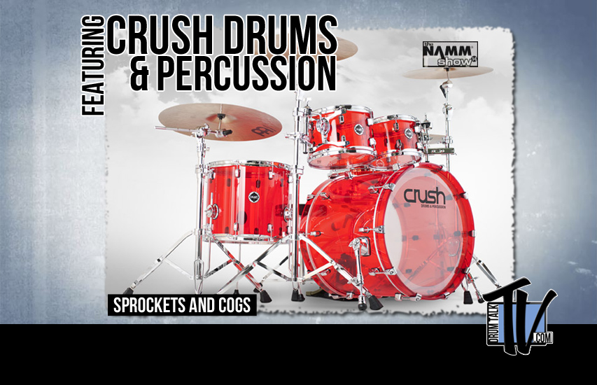 Crush Drums at NAMM14 on Drum Talk TV